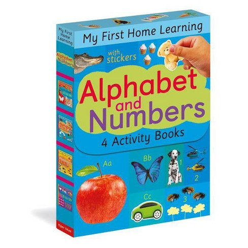 Alphabet and Numbers - (My First Home Learning) (Mixed Media Product) - image 1 of 1