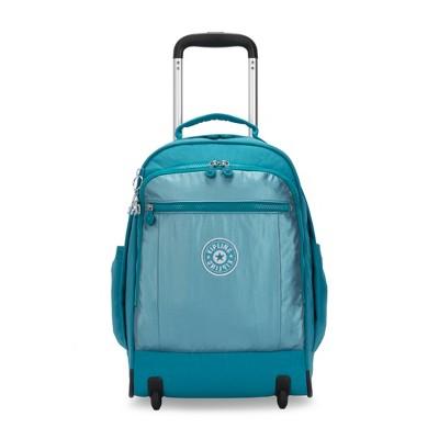 Kipling Gaze Large Metallic  Rolling Backpack