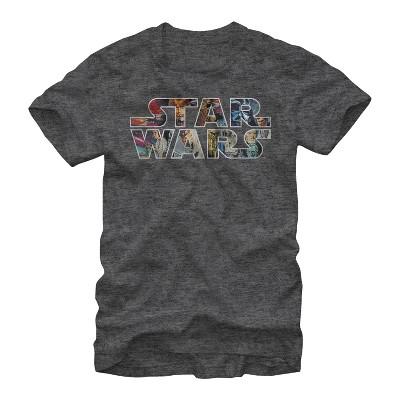 Men's Star Wars Classic Poster Logo T-Shirt