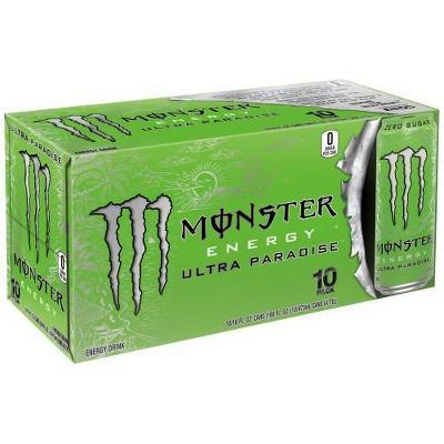 Monster Energy Ultra Paradise - 10pk/16 fl oz Cans