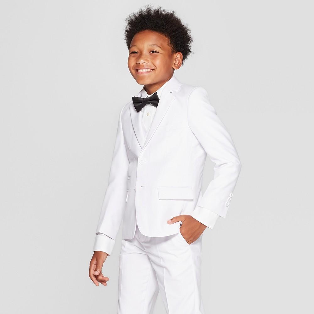 Image of Boys' Blazer - WD.NY Black - White 14, Boy's