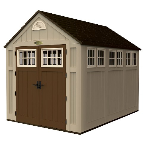 Storage Shed - Dark Taupe -  Suncast - image 1 of 2
