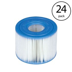 Intex PureSpa Type S1 Easy Set Pool Filter Replacement Cartridges (24 Filters)