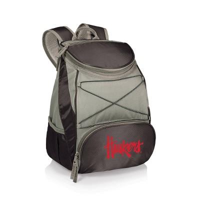 NCAA Nebraska Cornhuskers PTX Backpack Cooler - Black