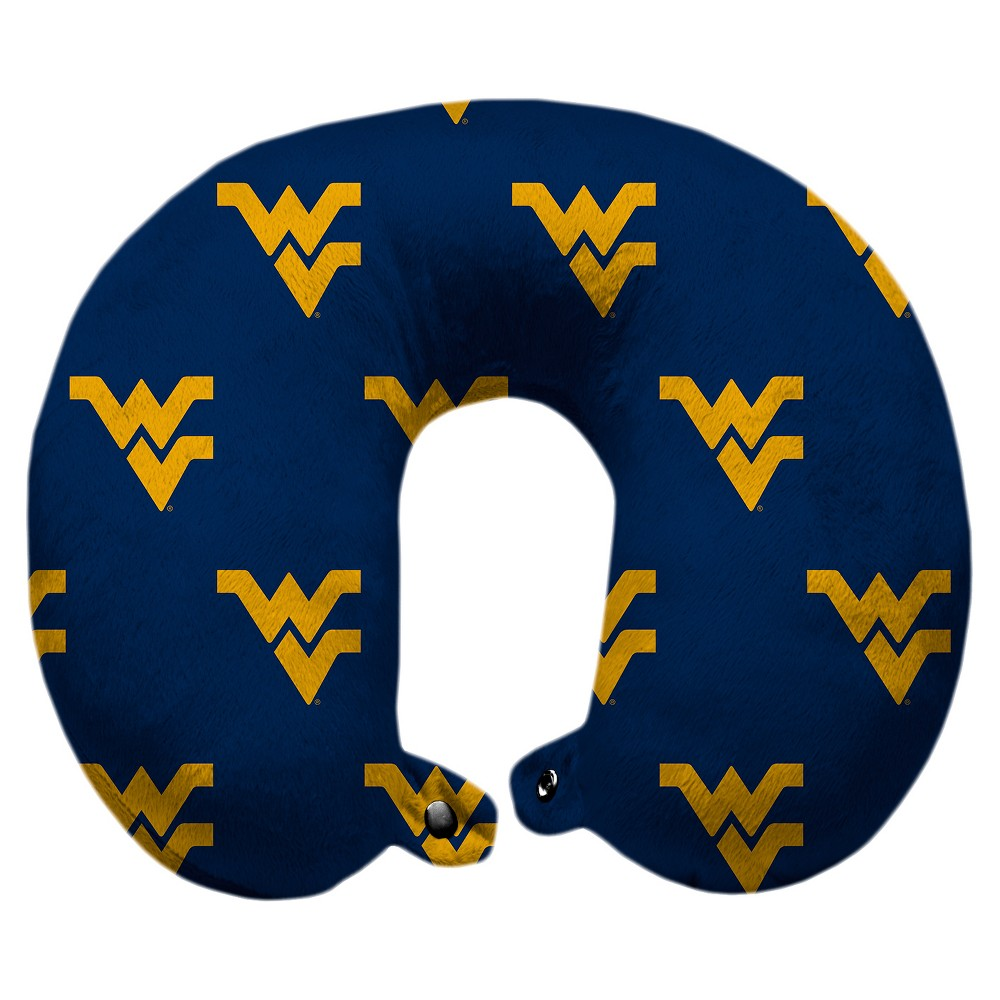 Ncaa West Virginia Mountaineers Polyester Travel Pillow