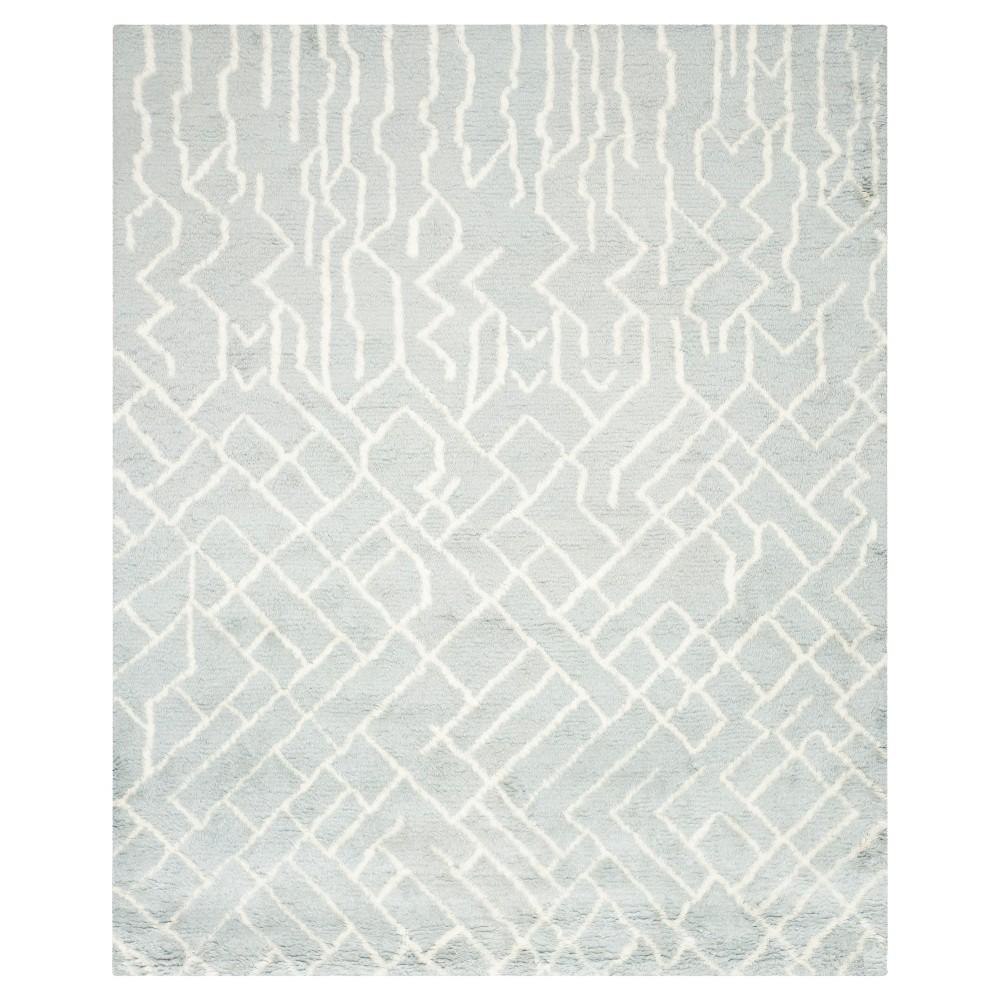 Ethan Area Rug - Blue / Ivory (8' X 10') - Safavieh