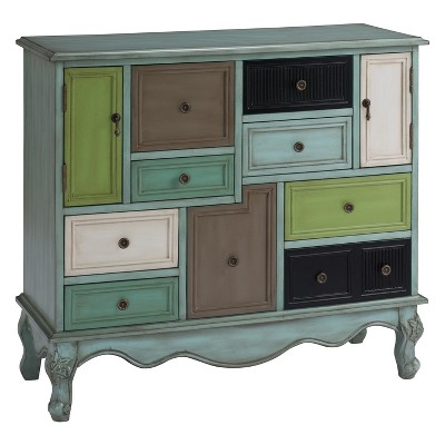 Christopher Knight Home Leslie Storage Cabinet Green