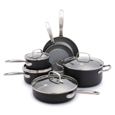 GreenPan Chatham 10pc Ceramic Non-Stick Cookware Set
