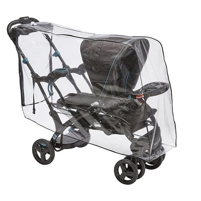 Sasha's Premium Rain Shield and Wind Cover For Baby Stroller, Compatible with Baby Trend Sit N Stand Ultra Tandem Stroller