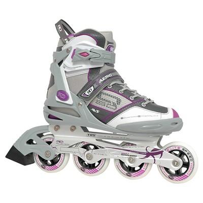 Roller Derby Women's Aerio Q-60 Inline Skates - Gray/White/Pink