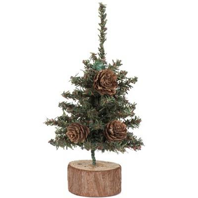 Vickerman Carmel Pine Artificial Tabletop Tree