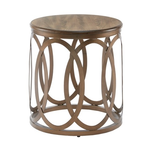 Accent Table Bronze - image 1 of 4