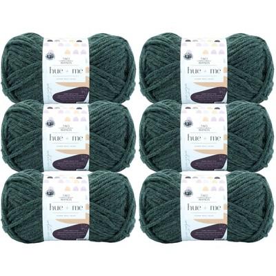 6pk Hue + Me Yarn Juniper - Lion Brand Yarn
