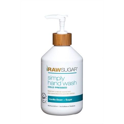 Raw Sugar Simply Hand Wash Vanilla Bean + Sugar - 16.9 fl oz - image 1 of 4