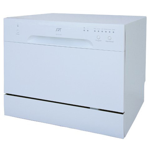 Sunpentown Countertop Dishwasher - White - image 1 of 3