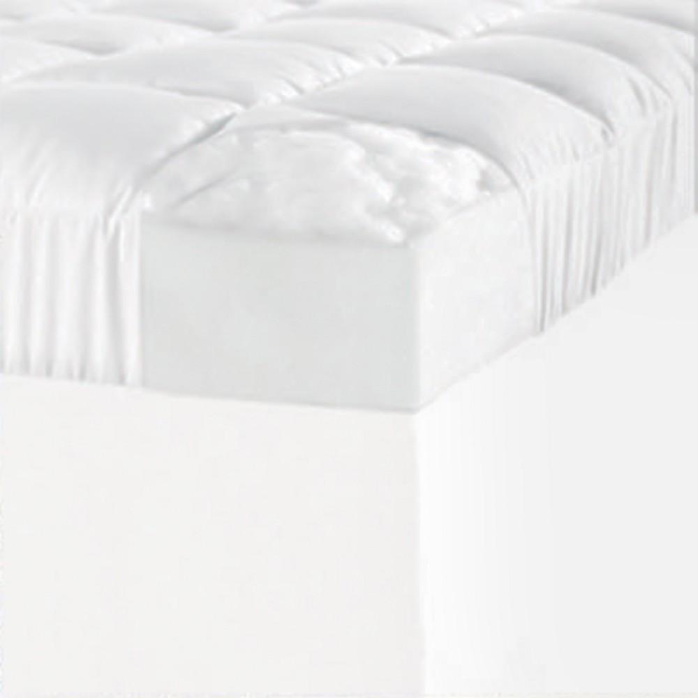 Image of 1.5 Mattress Topper Cover White (King) - ComforPedic Loft