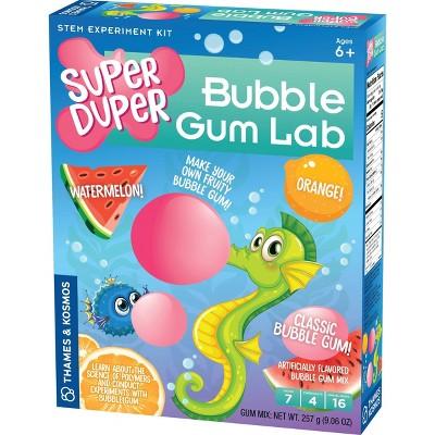 Thames & Kosmos Super Duper Bubble Gum Lab STEM Experiment Kit