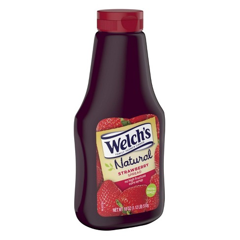 Welch's Natural Strawberry Spread - 19.8oz - image 1 of 2