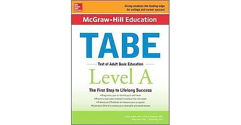 McGraw-Hill Education Tabe, Level A : Test of Adult Basic Education (Student) (Paperback) (Phyllis - image 1 of 1