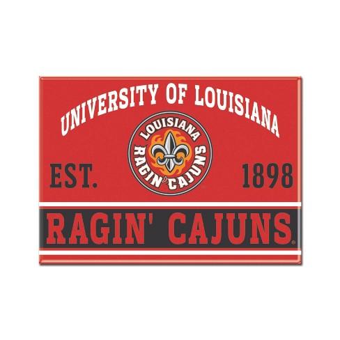 NCAA Louisiana Ragin Cajuns Fridge Magnet - image 1 of 1