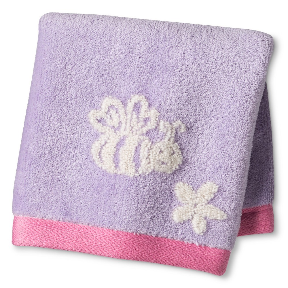 Image of Mariposa Wash Towels Lavender - Cassadecor, Size: Washcloth