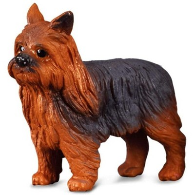 Breyer Animal Creations CollectA Cats & Dogs Collection Miniature Figure | Yorkshire Terrier