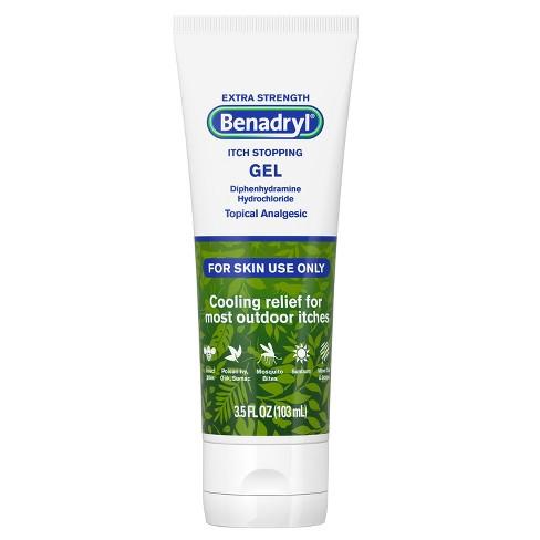 Benadryl Extra Strength Itch Stopping Gel - 4oz - image 1 of 4