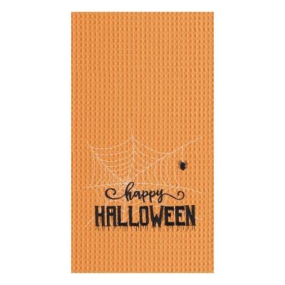 C&F Home Happy Halloween Web Kitchen Towel