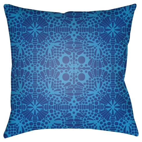 Blue Throw Pillow Surya - image 1 of 2