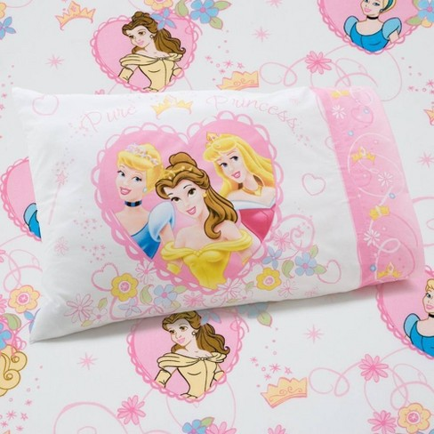 Disney Princess 2pc Castle Dreams Toddler Sheet Set - image 1 of 4