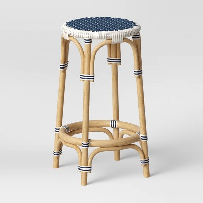 Perry Rattan Backless Woven Counter Height Barstool - Threshold™