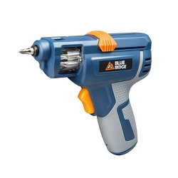 Blue Ridge Tools Rechargeable Screwdriver Power Drills With Bit Storage
