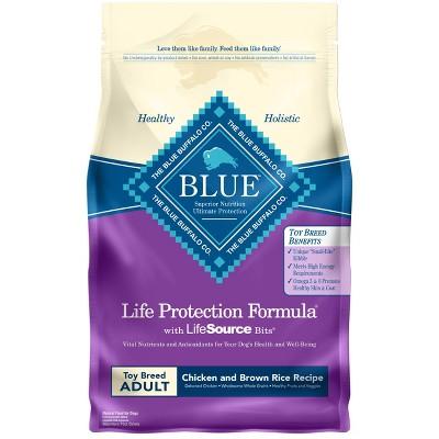 Dog Food: Blue Buffalo Life Protection Toy Breed Adult