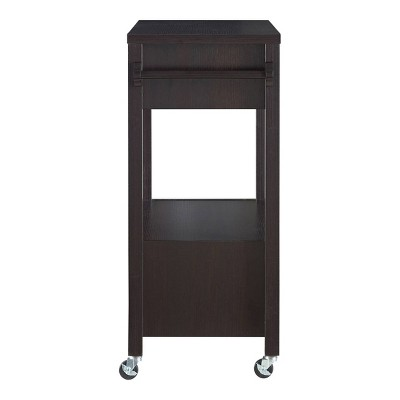 Umberra 2 Drawer Kitchen Cart Red Cocoa - HOMES: Inside + Out