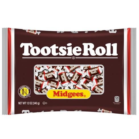 tootsie roll chocolate midgees 12oz target