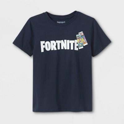 Boys' Fortnite Short Sleeve Graphic T-Shirt - Blue