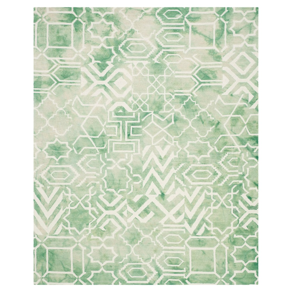 Jaycee Area Rug - Green/Ivory (8'x10') - Safavieh