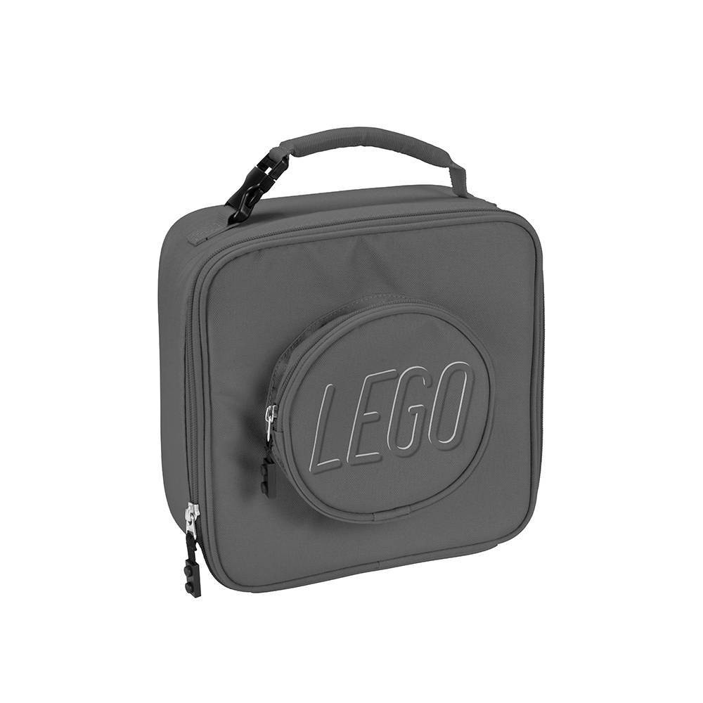 Image of LEGO Brick Lunch Bag - Gray