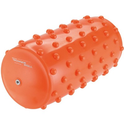 Gymnic Trigger Roll Inflatable Therapy Roll with Sensory Bumps - Orange
