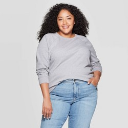 Women's Plus Size Crew Sweatshirt - Universal Thread™