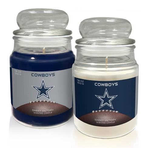 NFL Dallas Cowboys Candle Set