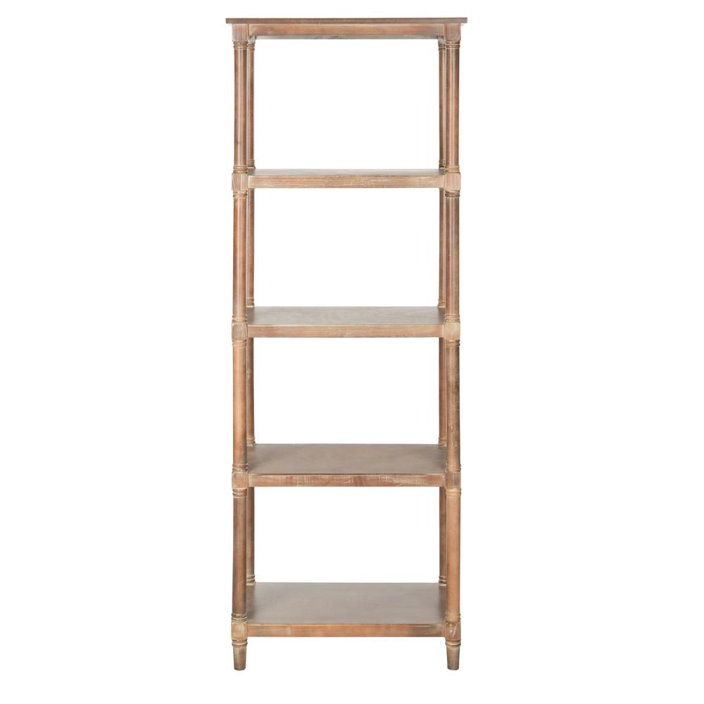 Bleeker 66.9 Bookcase - Stonewash - Safavieh