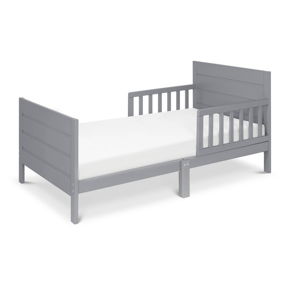 Image of DaVinci Modena Toddler Bed - Gray Finish