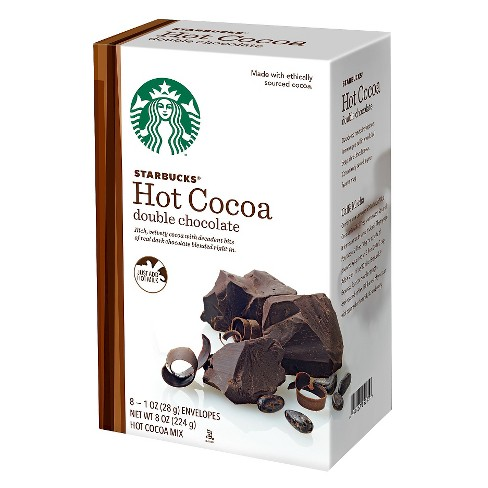 Starbucks Double Chocolate Hot Cocoa Mix - 8ct - image 1 of 1