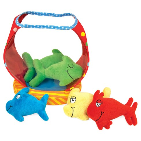 Manhattan Toy Dr. Seuss One Fish Bowl Baby Activity Toy - image 1 of 2