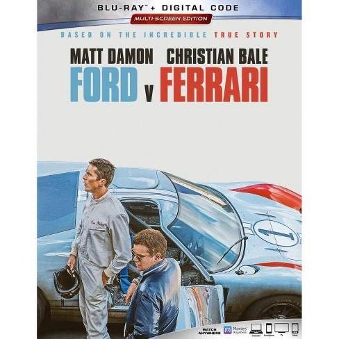 Ford Vs Ferrari Blu Ray Digital Target