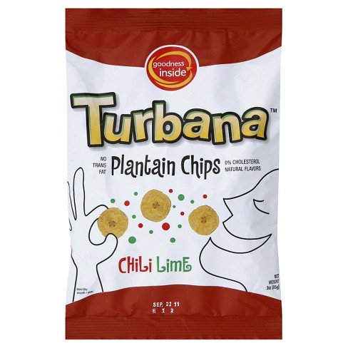 Turbana™ Chili Lime Plantain Chips 3 oz - image 1 of 1