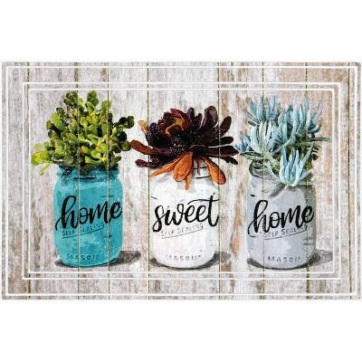 2'x3' Fashionables Deluxe Home Sweet Home Jars Doormat - Apache Mills