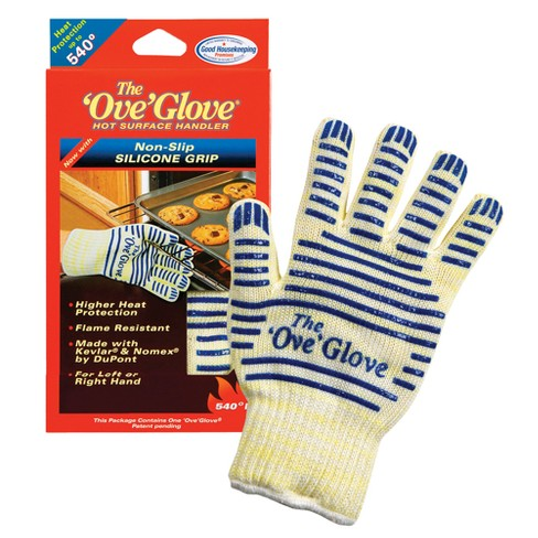 As Seen on TV® Ove Glove Hot Surface Handler - White/Blue - image 1 of 2