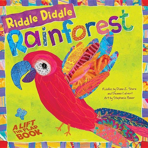 Riddle Diddle Rainforest - (Riddle Diddle Dumplings) by  Diane Z Shore & Deanna Calvert (Board_book) - image 1 of 1